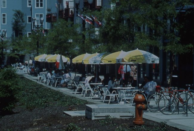 Portland Downtown Plan Outdoor Dining