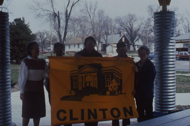 City Flag in West Clinton Action Plan