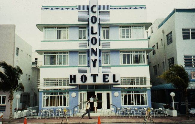 Ocean Drive Improvement Plans' Colony Hotel