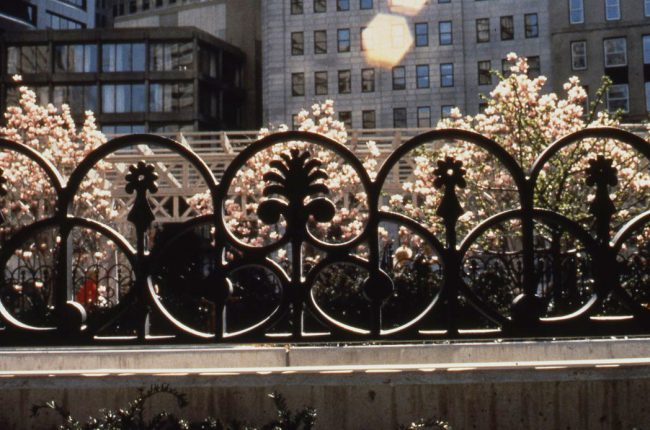 Fence at Park at Post Office Square
