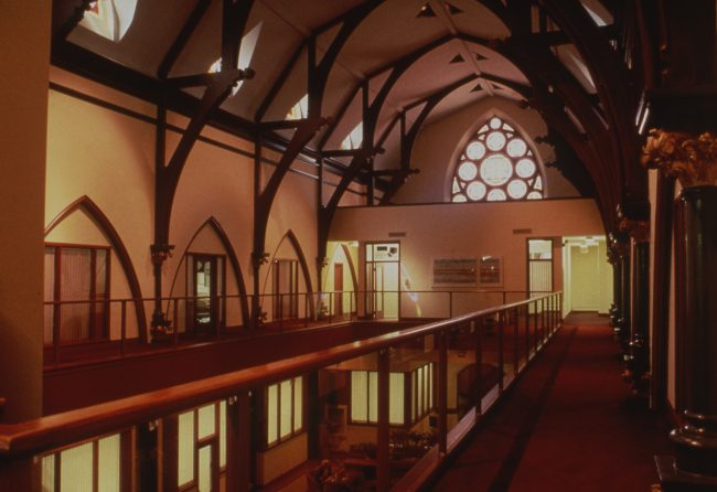 Church Interior with the New Community Corporation