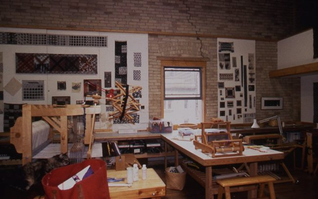 Weaving Studio in Lowertown