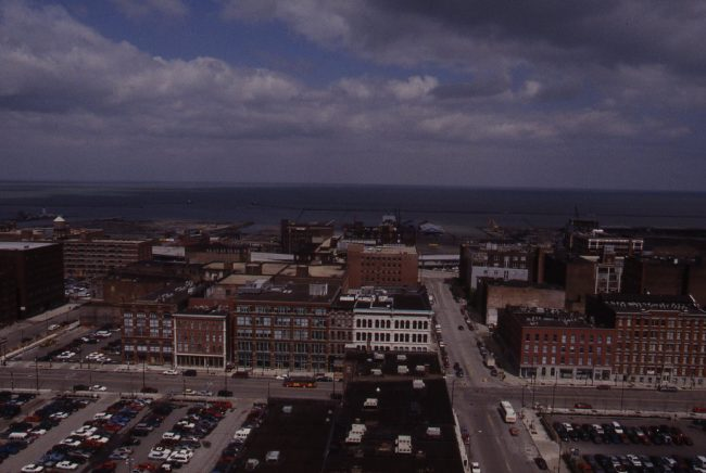 Cityscape of the Cleveland Historic Warehouse District