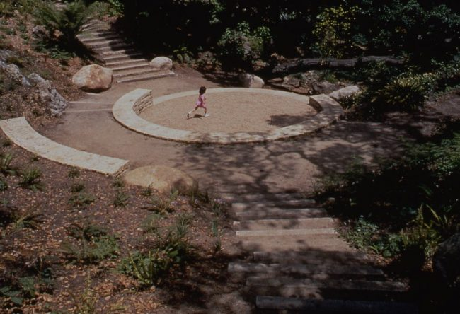 Amphitheater at National AIDS Memorial Grove