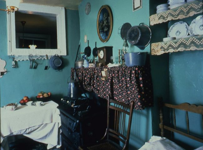 Blue Kitchen at the Lower East Side Tenement Museum