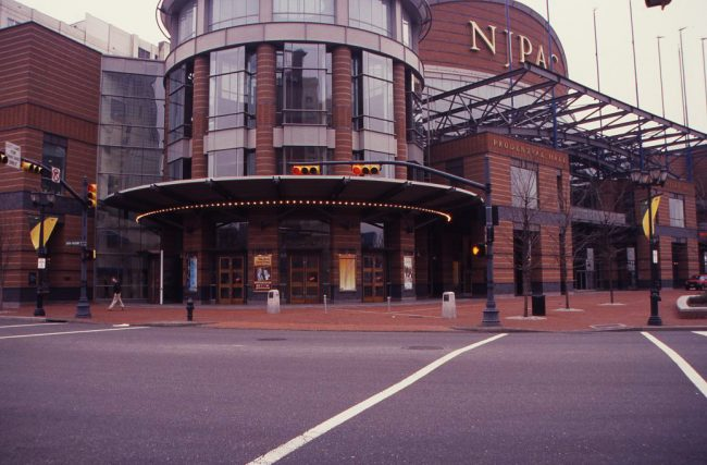 Street View at New Jersey Performing Arts Center