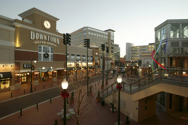 Downtown Silver Spring Shopping Square