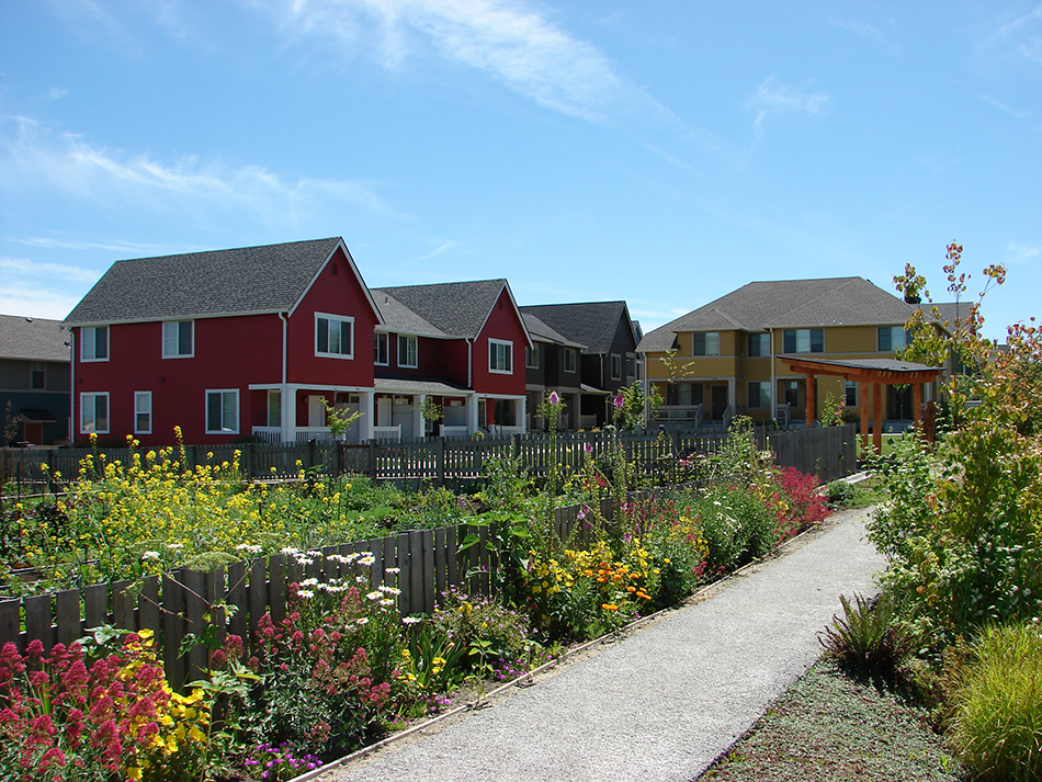 High Point 22a- low income rentals with organic garden